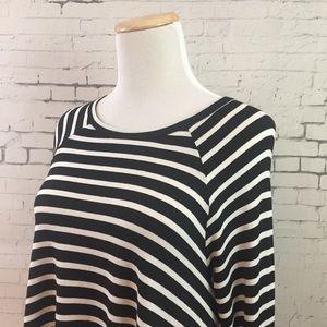Zimmermann Stripe Tunic Top Sz 1